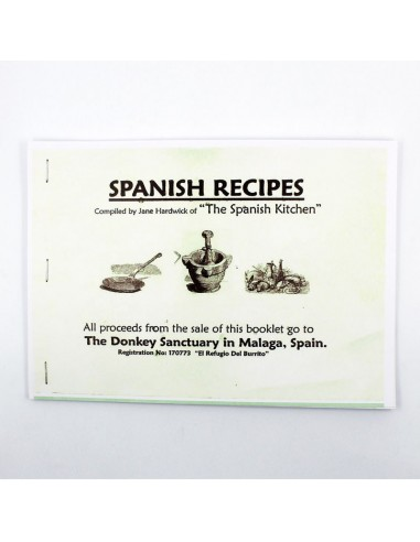 Book - Spanish recipe