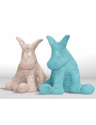 Donkey Sculpture by Grupo Artenovum