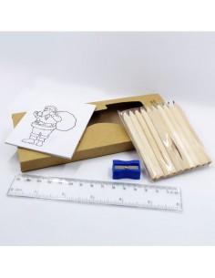 Kit de Dibujo con Reglas