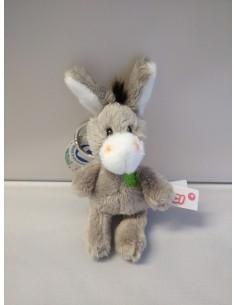 Keychain donkey lucky clover