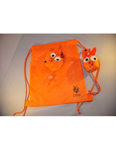 Mochila con forma animal pocket